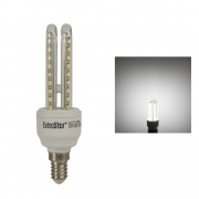 6x LED Lampen E27 U-Form Strahler 6W Kaltweiß