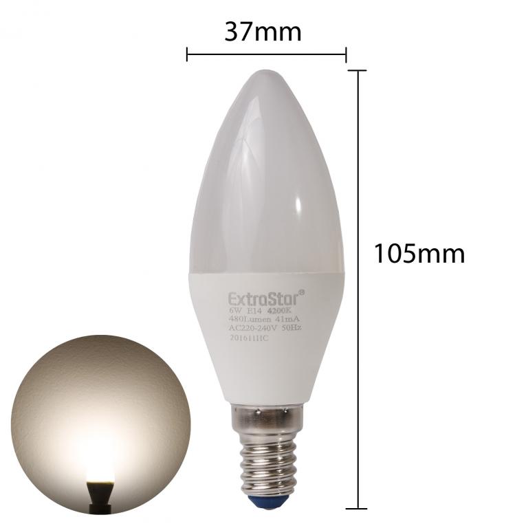 6x e14 led lampen 4w u form strahler kaltwei. Black Bedroom Furniture Sets. Home Design Ideas